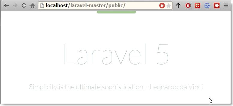 Laravel #1
